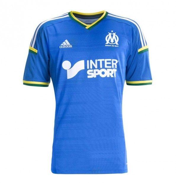 Quarta maglia Marsiglia 2013-2014 ispirata al Brasile