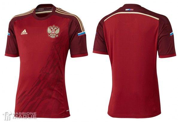 Maglia Russia Mondiali 2014 adidas
