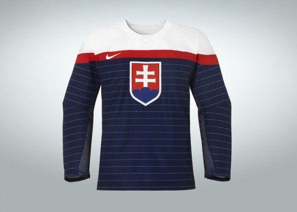 Slovacchia hockey ghiaccio Sochi 2014 away