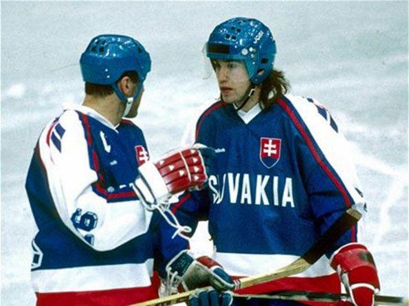 Slovacchia hockey ghiaccio anni novanta