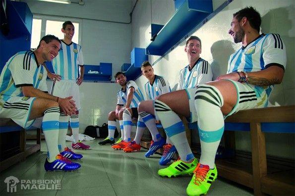 Spogliatoio Argentina 2014
