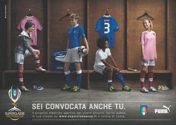 Superclasse donne Puma Italia