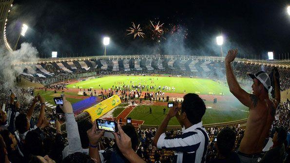 Talleres centenario festa stadio