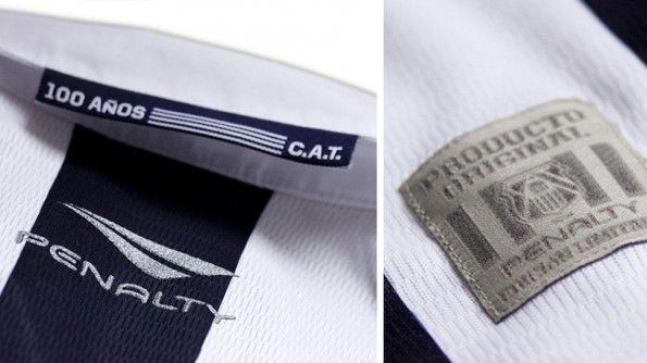 Talleres camiseta centenario patch