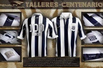 Talleres camiseta 100 anni