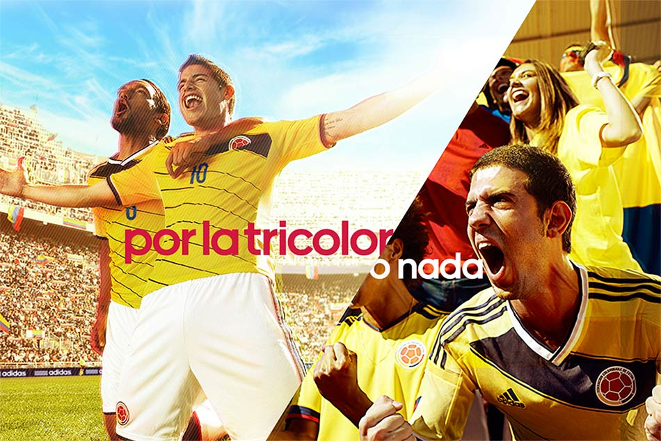 Colombia camiseta 2014 adidas World Cup