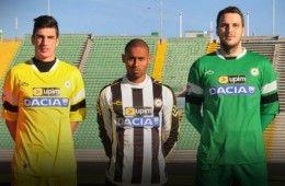 Maglie Udinese 2013-2014 sponsor Upim