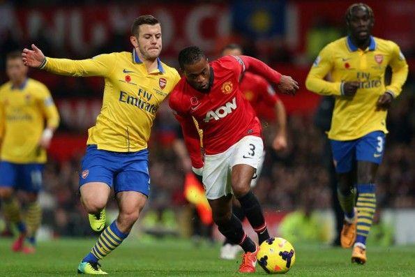 Manchester United-Arsenal 2013 Poppy