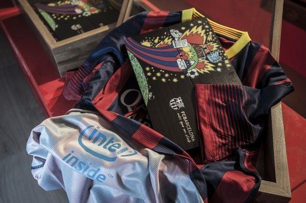 Barcellona Intel sponsor