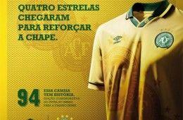 Chapecoense Maglia Commemorativa 2013-2014