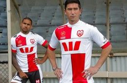 Melbourne Heart Third Kit 2013-2014