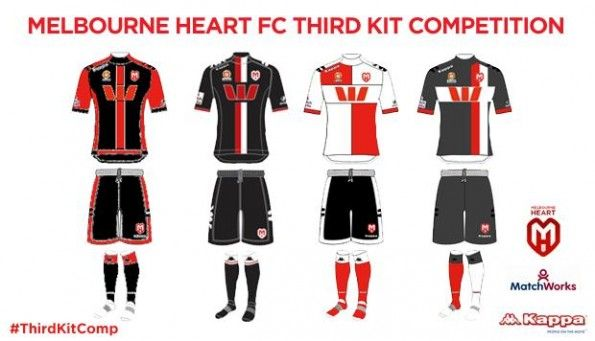 Melbourne Hearts Third kit competition 2013-2014