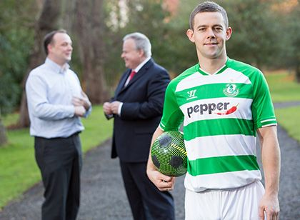 Shamrock Rovers Home Shirt 2014-2015