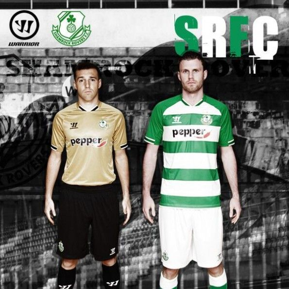 Maglie Shamrock Rovers Warrior 2014-2015