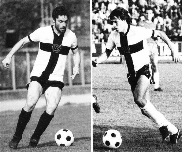 Parma anni 1981/1983 giocatori Cannata, Pari