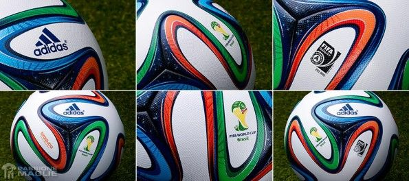 Dettagli pallone Brazuca adidas