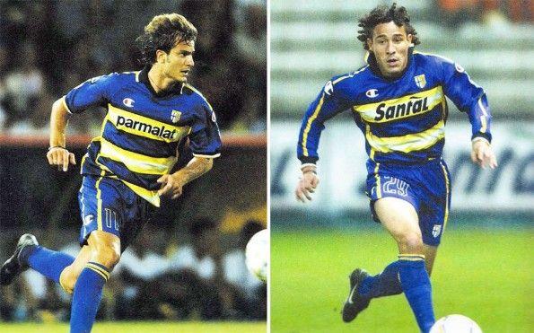 Parma 2003-2004 Gilardino Bolano