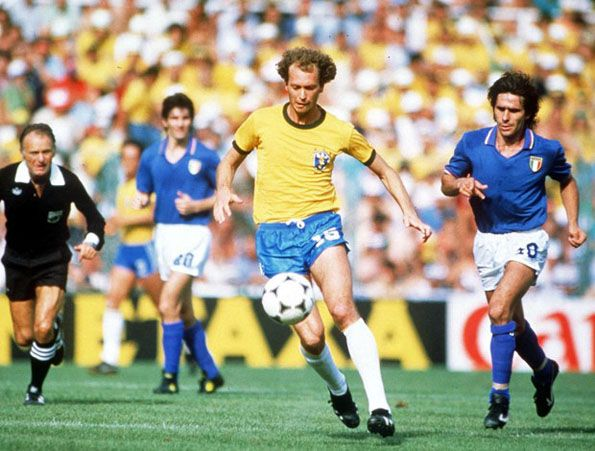 Italia Brasile mondiali 1982 Falcao Bruno Conti