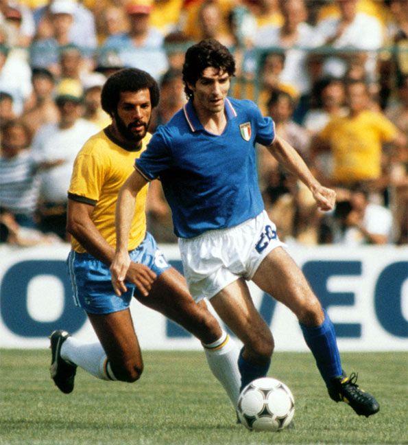 Italia Brasile mondiali 1982 Paolo Rossi Junior