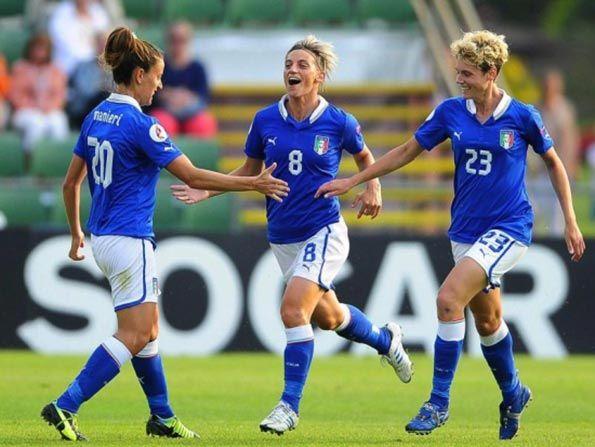 Gabbiadini e Salvai Italia femminile