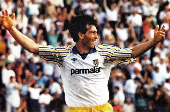 Parma 1989-1990 Alessandro Melli