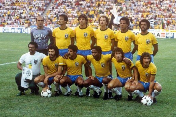 Nazionale calcio Brasile mondiali Spagna 1982