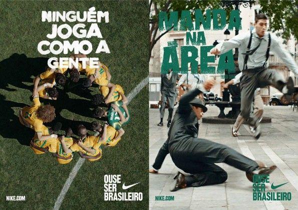 "Nike campagna ""Dare to be Brasilian"" Thiago Silva"