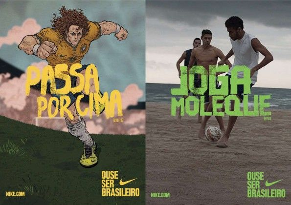"Nike campagna ""Dare to be Brasilian"" Neymar"