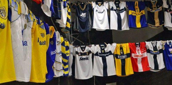 Centenario Parma mostra maglie storiche