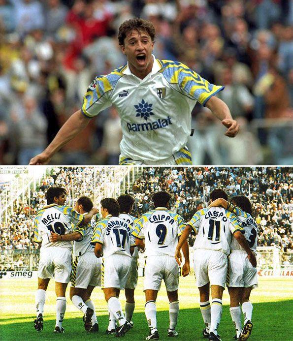 Parma 1996-1997 Crespo