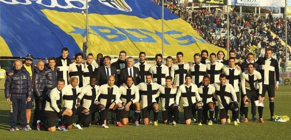 Parma maglia centenario 15 dicembre 2013