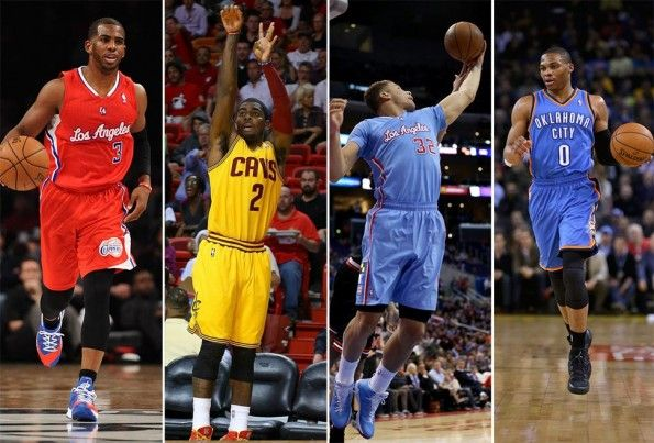 Paul, Irving, Griffin, Westbrook