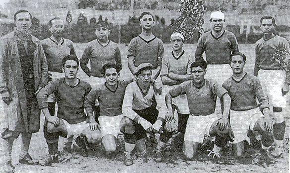 Formazione Salernitana anni 20