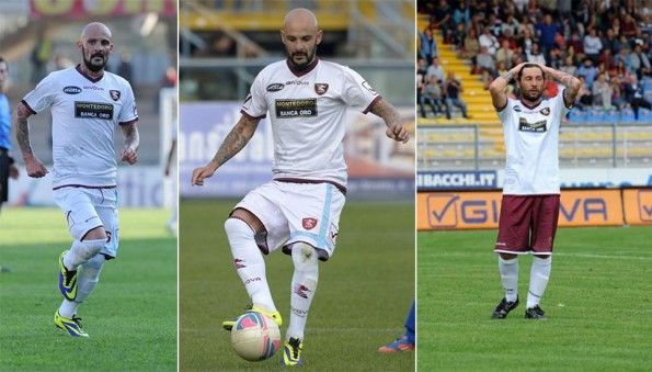Seconda maglia Salernitana 2013-2014