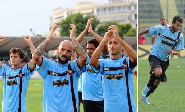 Terza maglia Salernitana 2013-2014