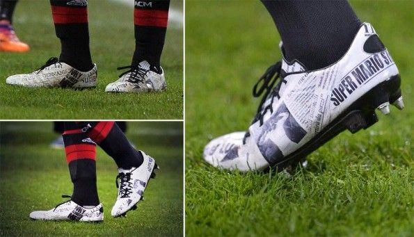 Scarpe Balotelli speciali Puma