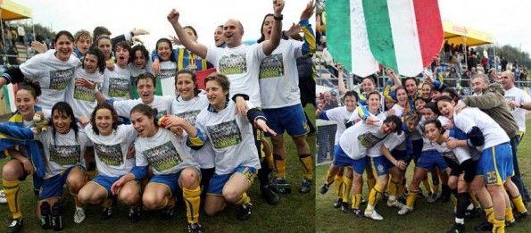 Vittoria scudetto 2007-08 Verona donne