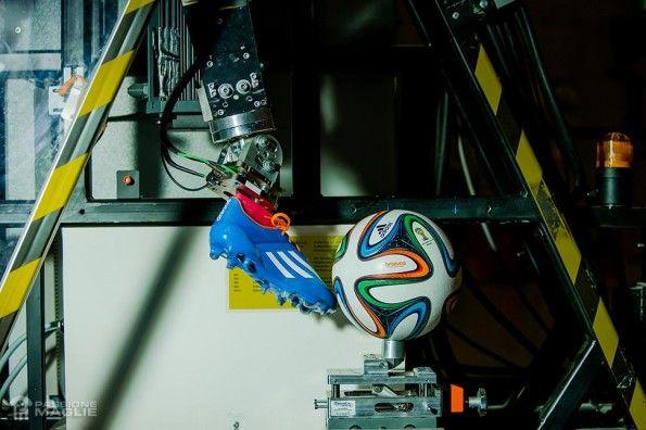 Test pallone Brazuca adidas