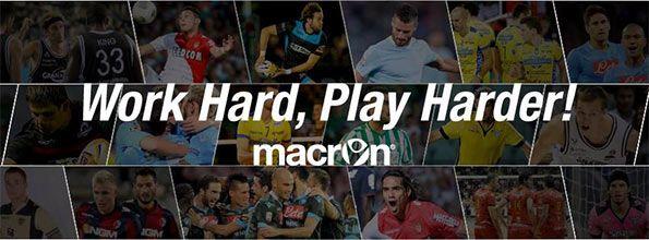 Work hard play harder Macron