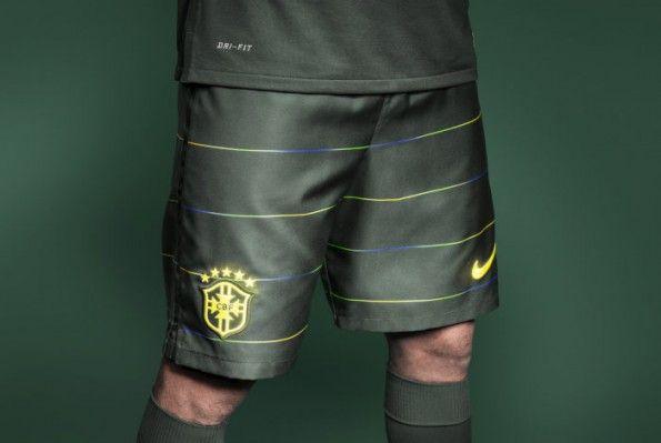 Pantaloncini Brasile third kit 2014