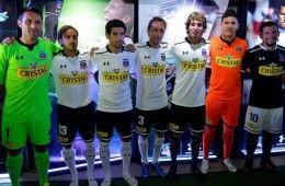 Presentazione kit Colo-Colo 2014
