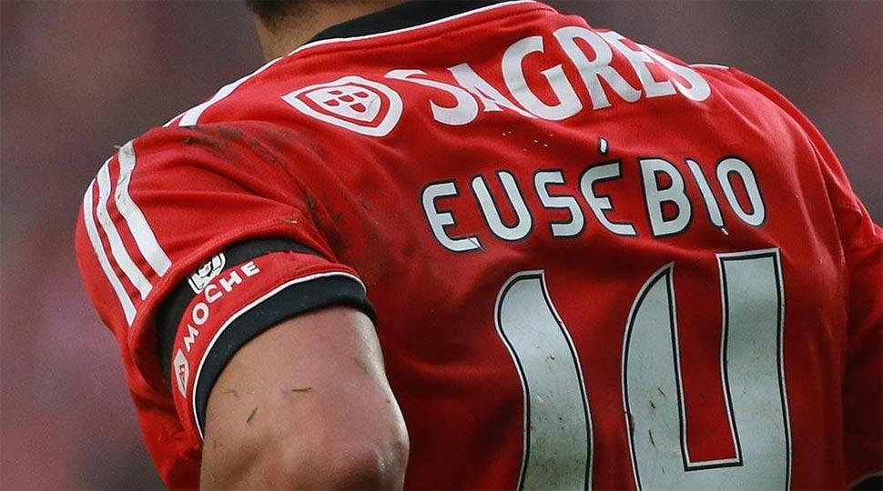 Nome Eusébio maglia Benfica