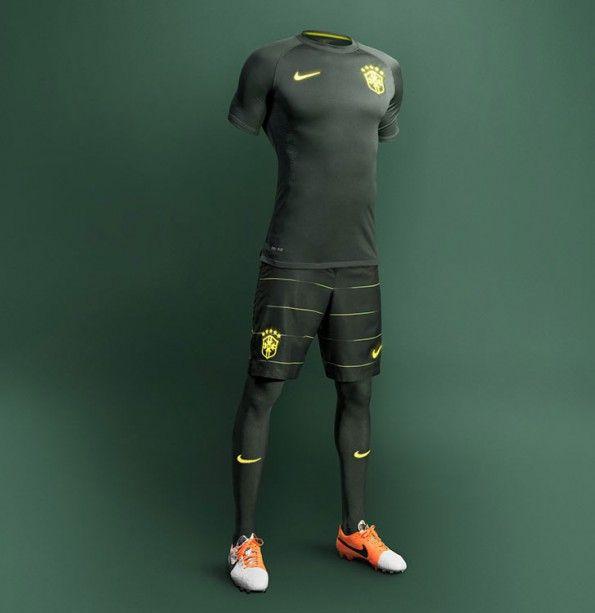 Brasile third kit 2014-2015 Nike