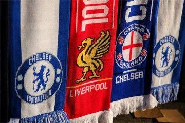 Sciarpe Chelsea-Liverpool