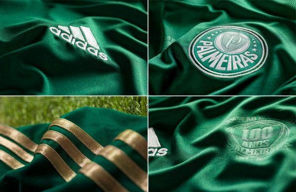 Dettagli maglia Palmeiras 2014