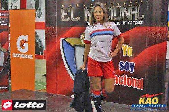 Maglia El Nacional 2014 Lotto