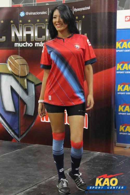Kit away El Nacional 2014 Lotto