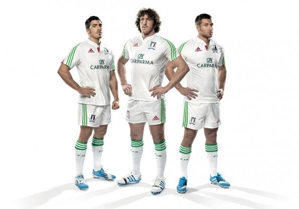 Seconda maglia Italia rugby 2014 adidas