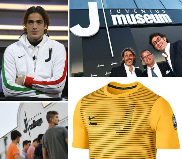 """Juventus immagine coordinata """"J"""""""