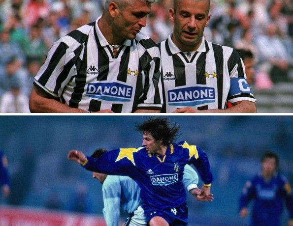 Juventus stemma maglie 1994-1995